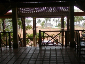 Hotel where I stayed in Khao Lak. I was the only guest!