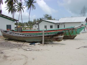 Wrecked boat Khao Lak