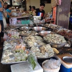 Bang Saen Nong Mon market 5