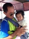 Koh tuk tuk driver and niece