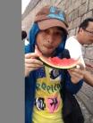 David at Wall Watermelon