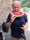 Me at Wall watermelon
