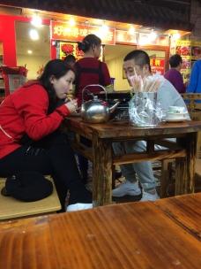 China Jianshui shop diners